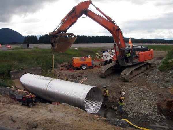 CORLIX® Aluminum Culvert and Drainage Pipe