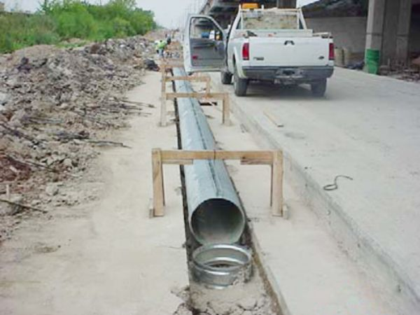 Slotted Drain Cmp Pipe By Contech Engineered Solutions
