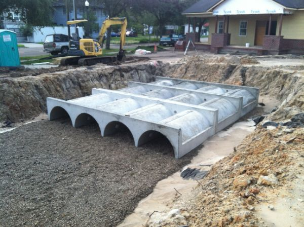 Terre Arch™ Concrete Detention and Infiltration