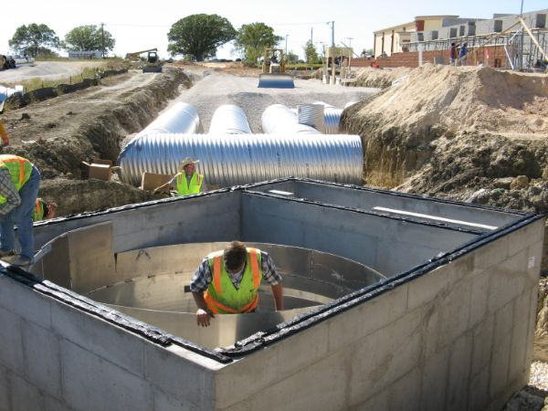 Stormwater Detention: For Drainage, Water Quality, and CSO Management