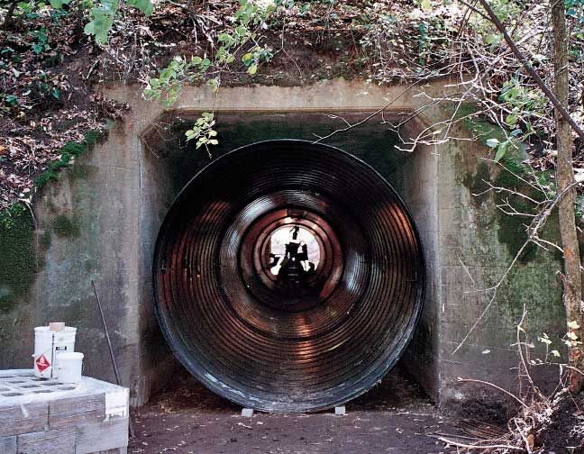 Photo 10: CMP Reline of Concrete Box Culvert