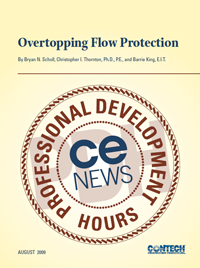 Overtopping Flow Protection
