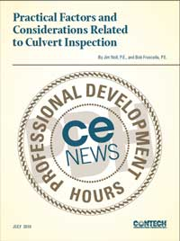 Practical Factors and Considerations Related to Culvert Inspection