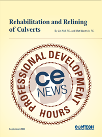 Rehabilitation and Relining of Culverts