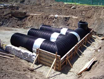 UrbanGreen SRPE Rainwater Harvesting Cisterns
